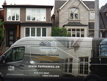 windows & doors installation Mississauga by Forhomes Ltd