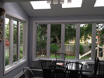 forhomes custom vinyl kitchen picture windows Oakville
