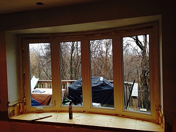 Forhomes custom bow window replacement Mississauga