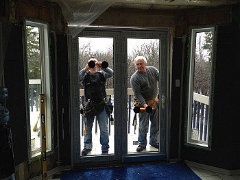 Forhomes custom patio doors installation Caledon