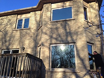 forhomes vinyl custom windows Mississauga