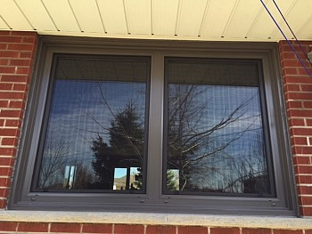 forhomes black window installation in Caledon