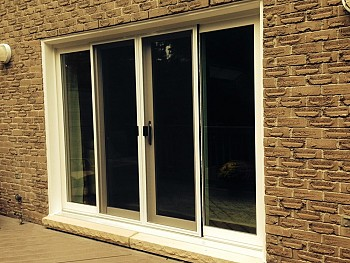 patio doors 4 panel Caledon