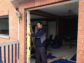 Forhomes custom patio doors installation in Caledon