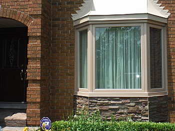 custom color bay window mississauga