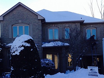 vinyl custom windows installation Mississauga