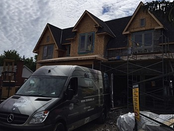 REHAU WINDOWS IN NEW BUILD MISSISSAUGA