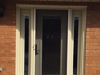 custom painted steel door installation Oakville