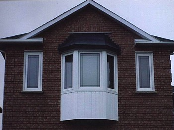 replacment bay window in Oakville