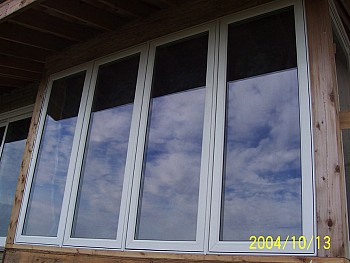 Custom casement Window installation Caledon