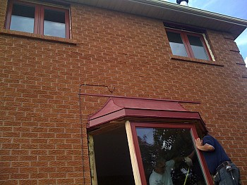 Forhomes Bay window installation in oakville