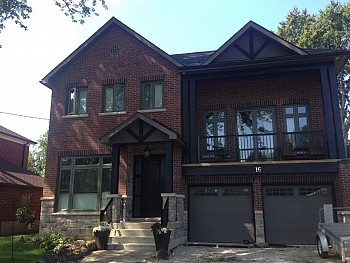 vinyl windows installation in Caledon