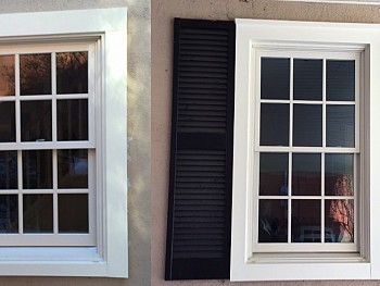 Forhomes vinyl picture windows and shutters Oakville