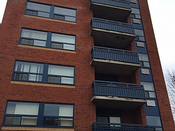 Welland apartment building windows and doors project