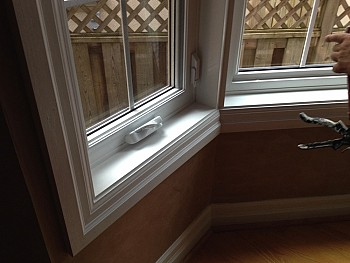 bay window with custom grills Caledon