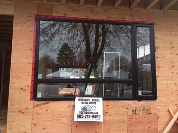 vinyl windows installation by Forhomes Caledon