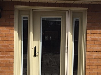 custom color steel door replacement Oakville