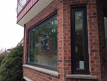 New Vinyl windows exterior forhomes ltd Oakville