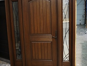 WOODGRAIN FIBREGLASS CUSTOM DOOR