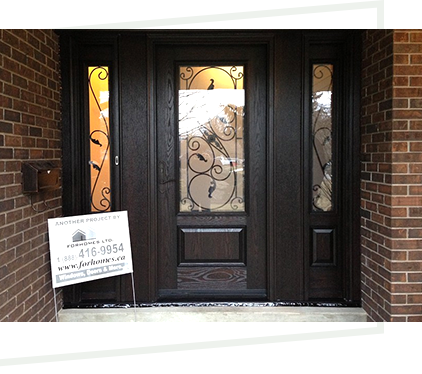 FORHOMES Ltd. custom speciality wood door Toronto & Mississauga