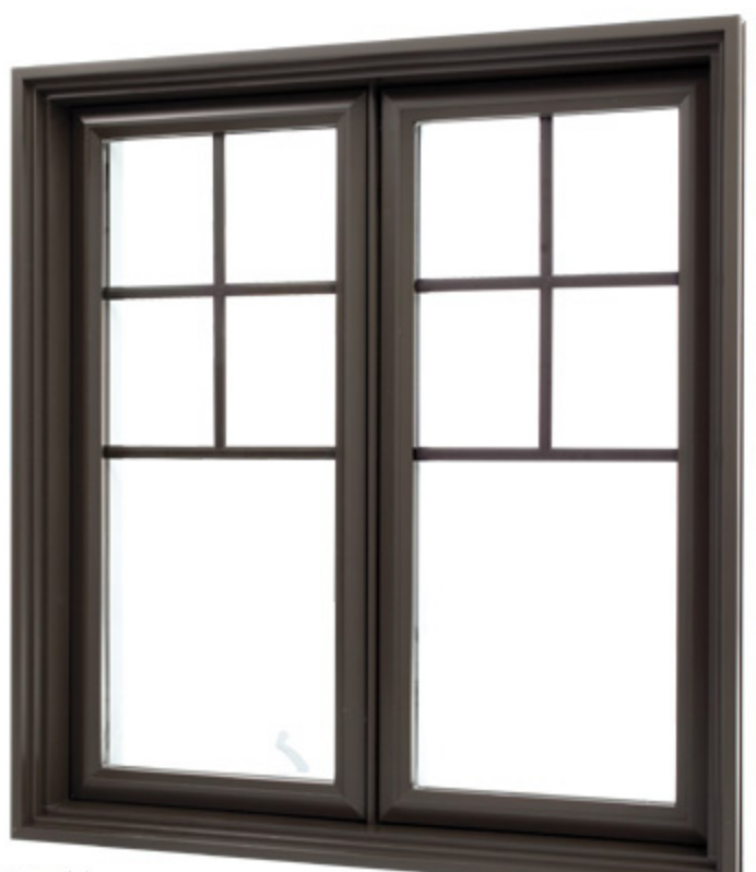 Laflamme European brown wood window at FORHOMES Ltd. in Mississauga